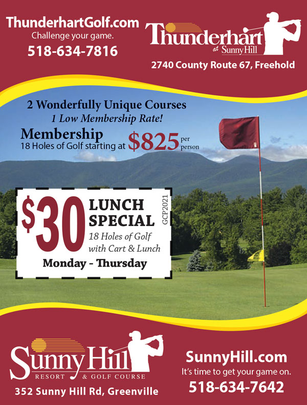Sunny Hill Resort Thunderhart Golf Course